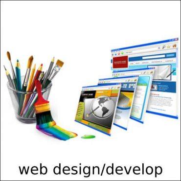 Web design / develop.